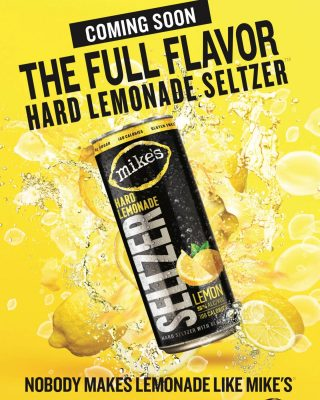 Is it 2021 yet? Mikes Hard Lemonade Seltzer will be available at the beginning of the year! Are you excited to try it? #bevdistcle #cleveland #hardseltzer #comingsoon