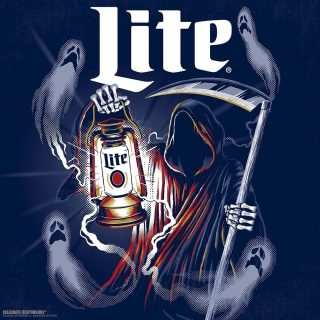 Why did the Ghost 👻 go into the bar? For the Boos! 🍻🍻🍻 #dadjokes Wishing everyone a happy and safe Halloween! 🎃🎃🎃 #bevdistcle #cleveland #millerlite #halloween #beer