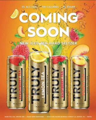 Get ready for Truly Ice Tea Hard Seltzer- a new line of flavors from Truly coming your way soon! What flavor are you most excited to try?! #bevdistcle #cleveland #trulyhardseltzer #icedtea