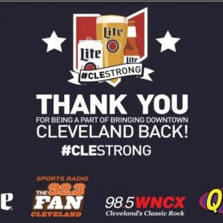 🗣 CONTEST ENDS SOON!! From now through December 31st you have a chance to win the Ultimate Cleveland Prize pack stuffed with more than 60 gift cards from your favorite downtown businesses! For more information and rules about this contest please visit one of the following websites: www.923thefan.com/contests , www.Q104.com/contests or www.wncx.com/contests. Good Luck!! #bevdistcle
