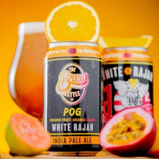 For this iteration of The Brew Kettle's rajah series; they used a combo of hops to create a backbone of passion fruit and orange citrus. They then added 110 gallons of passion fruit juice and 550 lbs of guava puree into the fermentation tank, to boost the POG flavors already from the hops to give you a deliciously juicy twist of the famous White Rajah IPA. #bevdistcle #cleveland #drinklocal #localohio