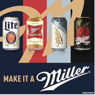 Which Miller can will you be sippin' on this weekend? #bevdistcle #cleveland #ItsMillerTime #BeersToThat