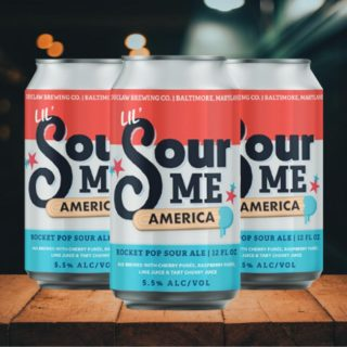 Sour Me: Lil' America Rocket Pop Sour Ale - 5.5% ABV. Like a patriotic, lip-puckering fruit popsicle in your glass, @duclawbrewingco has brought together three refreshing fruit flavors to rocket you into summer! Sip freely! #bevdistcle #cleveland #craftbeer