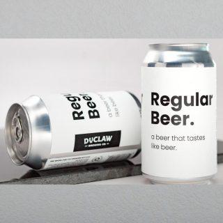 Regular Beer- This is beer that tastes like regular beer. For the times you want to drink regular beer, 4.9% ABV. #bevdistcle #cleveland #BeersToThat #beer #weekend