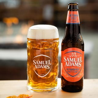 Roasty sweetness, light hop character, and back for a limited time! Grab a stein of Octoberfest while it's here! #bevdistcle #cleveland #samadams #octoberfest