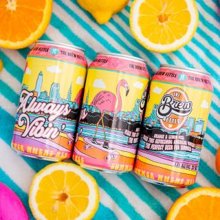 This summer wheat drinks so smooth it's like carving down a perfectly paved street. Full of refreshing citrus notes balanced by wheat malt, this beer crushes and keeps the easy vibes going all summer long, regardless of your destination. 5.5% ABV #bevdistcle #cleveland #localohio #craftbeer