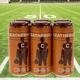Inspired by the American IPA's of the pre-Prohibition era and made with ingredients and techniques common to those long-ago brews, Leatherhead IPA is brewed only a few miles from the field where pro football was first played in Canton, Ohio! #bevdistcle #cleveland #ohiobeer #drinklocal #football