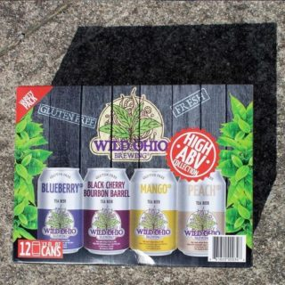 Have you tried the Wild Ohio Brewing mixed pack yet?! Gluten-free wild tea beer brewed in Columbus, Ohio! #bevdistcle #cleveland #localohio #drinklocal