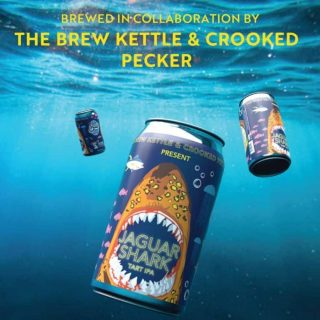 Jaguar Shark is a Tart IPA featuring grapefruit, citrus and Lemon/Lime notes. Clocking in at 7% ABV and 25 IBUS. #bevdistcle #cleveland #localohio #ohiobeers