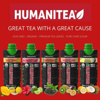 Introducing Humanitea- great tea with a great cause! Humanitea is committed to supporting both nonprofit and community events that help to uplift and bring humanity together. Available in 5 amazing flavors! #bevdistcle #cleveland #tea #charity