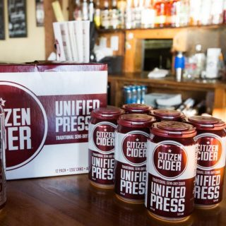 Made from 100% locally sourced apples, never from concentrate, the Unified Press is Citizen Cider's flagship cider that keeps you wondering where it's been your whole life. This naturally gluten-free cider is an off-dry, crisp, clean and refreshing cider that keeps you coming back. #bevdistcle #cleveland #cider #glutenfree
