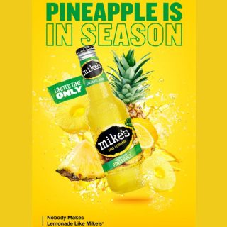 Mike's Hard Lemonade's new seasonal Pineapple Lemonade features a classic mix of pineapple and of course, juicy lemonade. The taste is refreshing, juicy and full of flavor! #bevdistcle #cleveland #summer #mikeshardlemonade