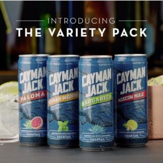 Level up your cocktail hour with this bartender-quality foursome. Say cheers to the Cayman Jack Variety Pack: Margarita, Mojito, Moscow Mule, and the NEW Paloma! #bevdistcle #cleveland #caymanjack