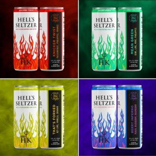 Which one of these unapologetically bold flavors are you going with this weekend? #bevdistcle #cleveland #hellsseltzer #DrinkHells