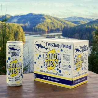 Brewed with real lemon puree, blueberry juice, acai berries, monk fruit, sea salt and special, Hopsteiner Polyphenol-Rich Hop Pellets™, Lemon Quest is a super-refreshing, active lifestyle-oriented, non-alcoholic wheat beer that clocks in with just 90 calories per 12 oz. can! #bevdistcle #cleveland #beer #nonalcoholic