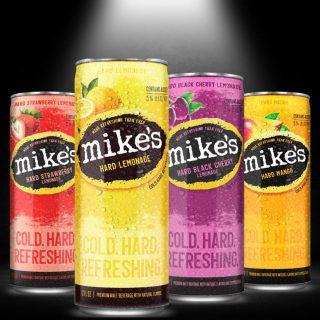 Mike's Hard Variety pack offers up four fan favorites: Lemonade, Black Cherry, Strawberry, and Mango. Nobody makes lemonade like Mike's! #bevdistcle #cleveland #mikeshardlemonade